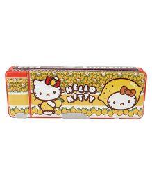 Hello Kitty Pencil Box - Yellow