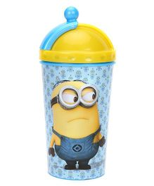 Minions 3D Top Tumbler Yellow - 450 ml