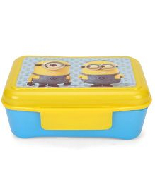 Minions Elite Lunch Box With Clip On - Yellow