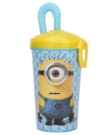 Minions IML Sports Tumbler Yellow And Blue - 450 ml