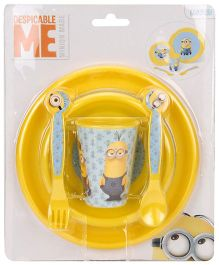 Minions Feeding Set Yellow - 5 Piece Set