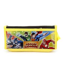 Justice League Pencil Pouch - Yellow