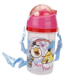 Angry Birds Water Bottle Pink - 500 ml