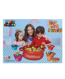 Mitashi Playmart  Soup With Letters - 10 Pieces