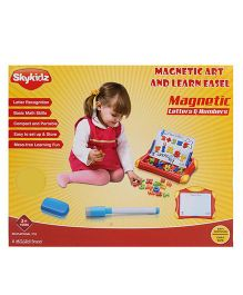 Mitashi SkyKidz Magnetic Art & learn Easel