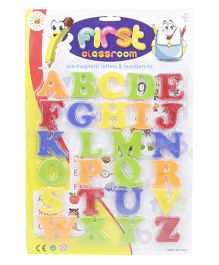 Playmate Magnetic Letters Small - Multi Color