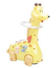 Playmate Funny Giraffe - Yellow
