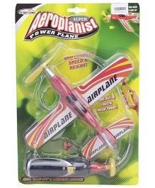 Playmate Aeroplanist Super Power Aeroplane - Red