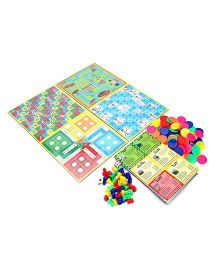 Ratnas Business Game With 4 In 1 Board Game Set