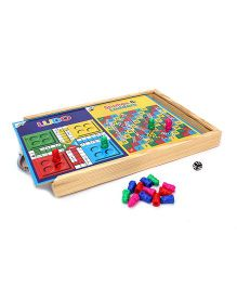 Ratnas All The Best Exam Pad With Board Game Print