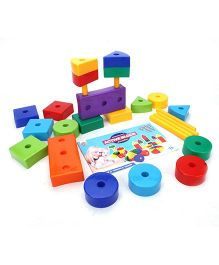 Ratnas Active Jumbo Blocks (Color May Vary)