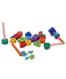 Ratnas Goldy Blocks Set - Multicolor