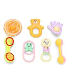 Ratnas Baby Rattle Set - Pack Of 7
