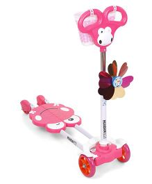 Sunny Split Scooter - Pink
