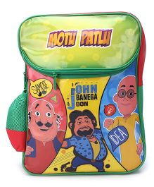 Motu Patlu John Banega Don Print Backpack - 16 inches