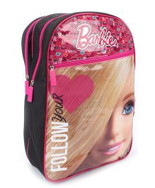 Barbie Doll School Backpack Black - 18 inches