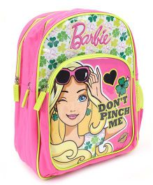 Barbie School Backpack Pink - 14 inches