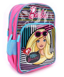 Barbie You Beautiful School Backpack Pink - 18 inches