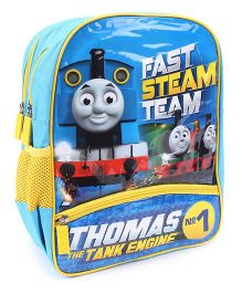 Thomas And Friends Fast Steam Team Print School Backpack Blue - 14 inches