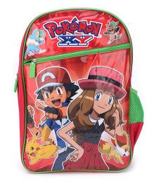 Pokemon School Backpack Red - 18 inches