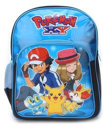 Pokemon School Backpack Blue - 16 inches