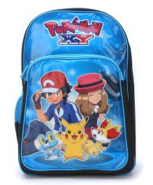 Pokemon School Backpack Blue - 18 inches