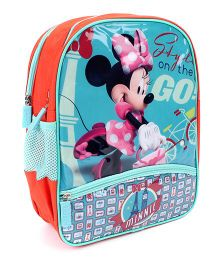 Disney Minnie Mouse School Backpack Blue - 14 inches