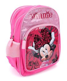Disney Minnie Mouse School Backpack Pink - 14 inches