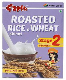 Gaplu Roasted Rice & Wheat Khimti Stage 2- 300 gm