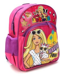 Barbie Have Fun School Backpack Pink - 12 inches