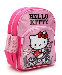 Hello Kitty School Backpack Pink - 12 inches