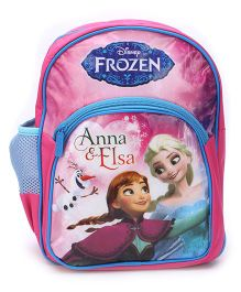 Disney Frozen School Backpack Pink And Blue - 12 inches