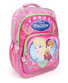 Disney Frozen Sister Love Backpack Pink - 18 inches