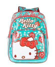 Hello Kitty School Backpack Turquoise- 16 inches