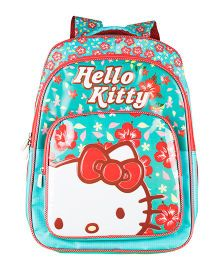 Hello Kitty School Backpack Turquoise- 18 inches