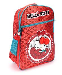 Hello Kitty School Backpack Red - 18 inches
