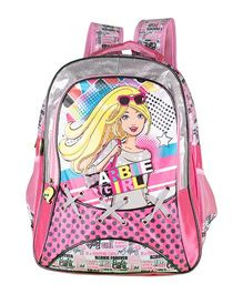 Barbie Girl School Backpack Pink - 16 inches