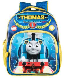 Thomas And Friends The Tank Engine School Backpack Blue - 14 inches