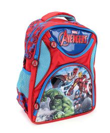 Marvel Avengers School Backpack Red And Blue - 16 inches