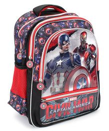 Marvel Captain America Civil War Print School Bag - 16 inches