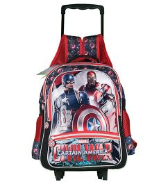 Marvel Avengers Captain America Trolley School Backpack - 16 inches