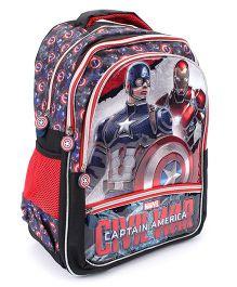 Marvel Captain America Civil War Print School Bag - 18 inches
