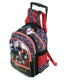 Marvel Avengers Captain America Trolley School Backpack - 18 inches