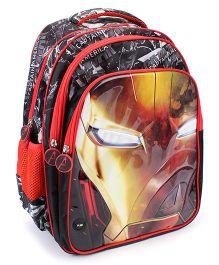 Marvel Avengers Iron Man Light-up School Backpack Black - 16 inches