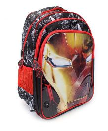Marvel Iron Man Light-up School Backpack - 18 inches
