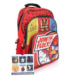 Angry Birds Join The Flock School Backpack - Red