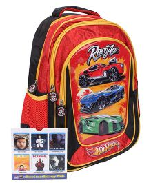 Hot Wheels School Backpack Red - 16 inches