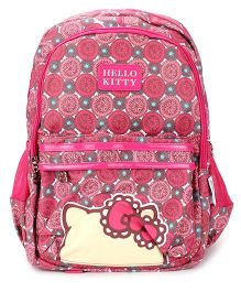 Hello Kitty School Backpack Pink - 17 inches