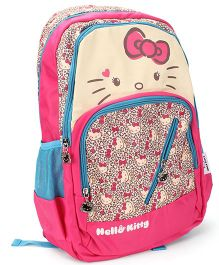 Hello Kitty School Backpack Pink And Cream - 19 inches