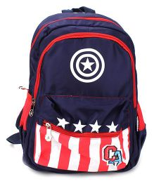 Marvel Captain America Backpack Navy - 15 inches